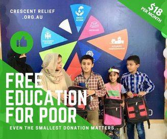 Orphan Relief Recepients