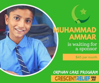 Orphan Zakat Applicant